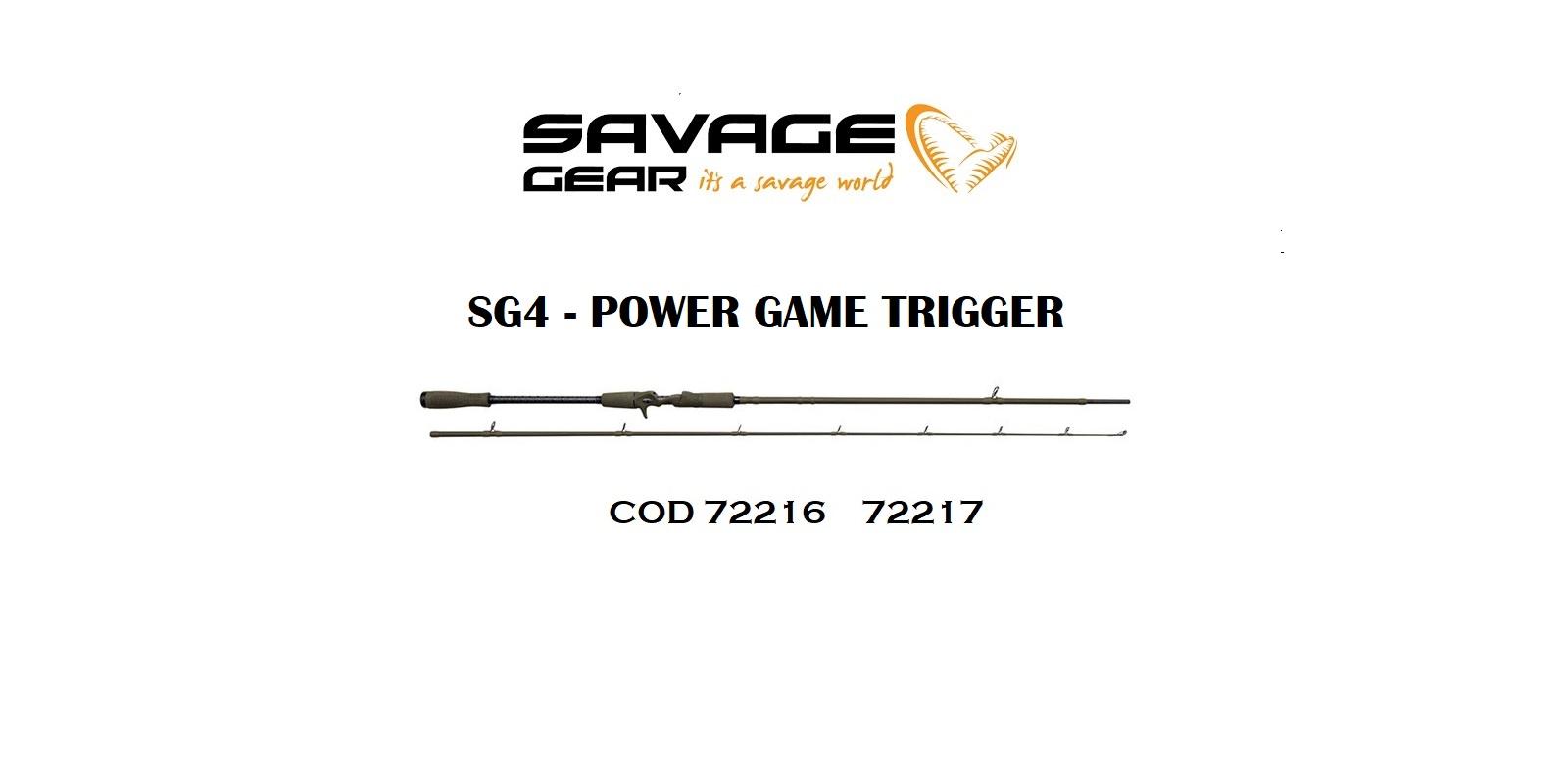 Canna Savage Gear Serie SG4  Jerk e Swimbait