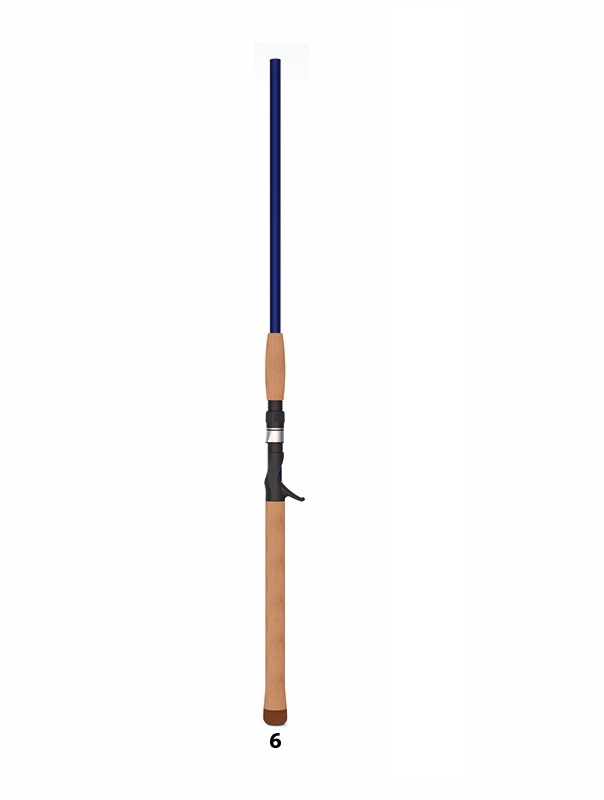 Canna S.Croix Legend Tournament Musky downsizer 7'3' 3/4 3 oz