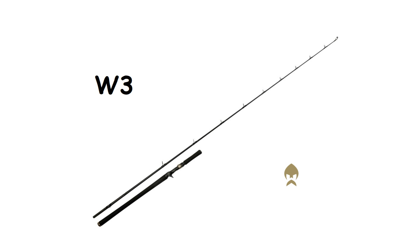 "Canna da Casting Westin W3 MonsterStick-T 2nd 7'9"" / 233 cm 5XH / 130-260 g"