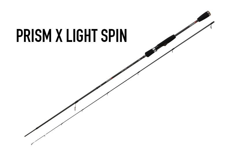 Canne Fox Rage Prism X   LITE SPIN 210 cm 2-8 gr NRD318