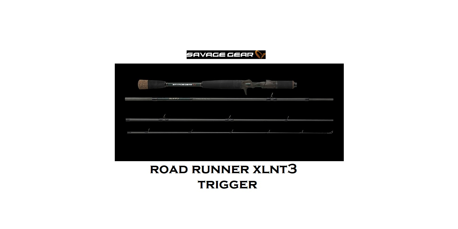 Canna Savage Gear Road Runner XLNT3 Trigger 7' (213 cm) 100 gr 4 sec cod  62378