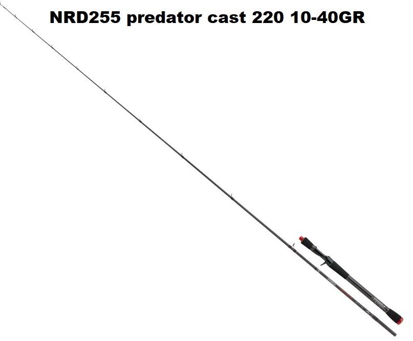 Canna Prism Predator Cast MT220 10-40GR NRD255