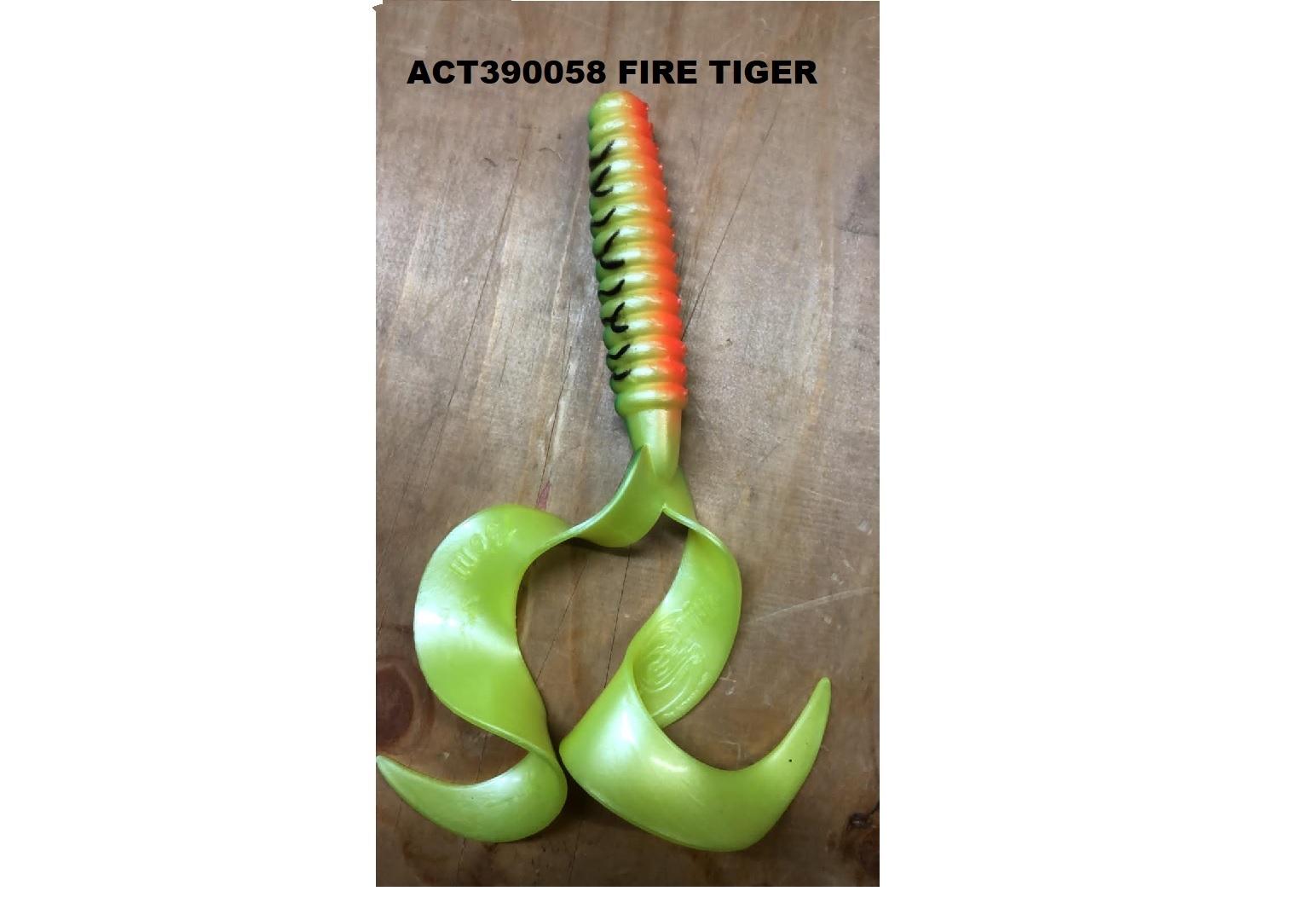 Esca Cat Spirit Double Wave 15 cm Fire Tiger act390058