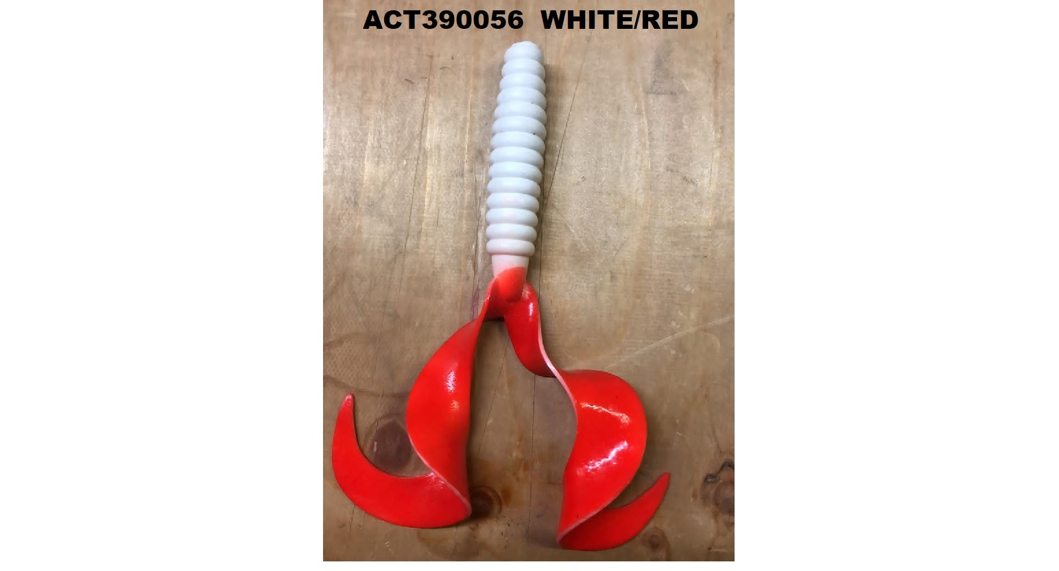 Esca Cat Spirit Double Wave 15 cm White/Red  act390056