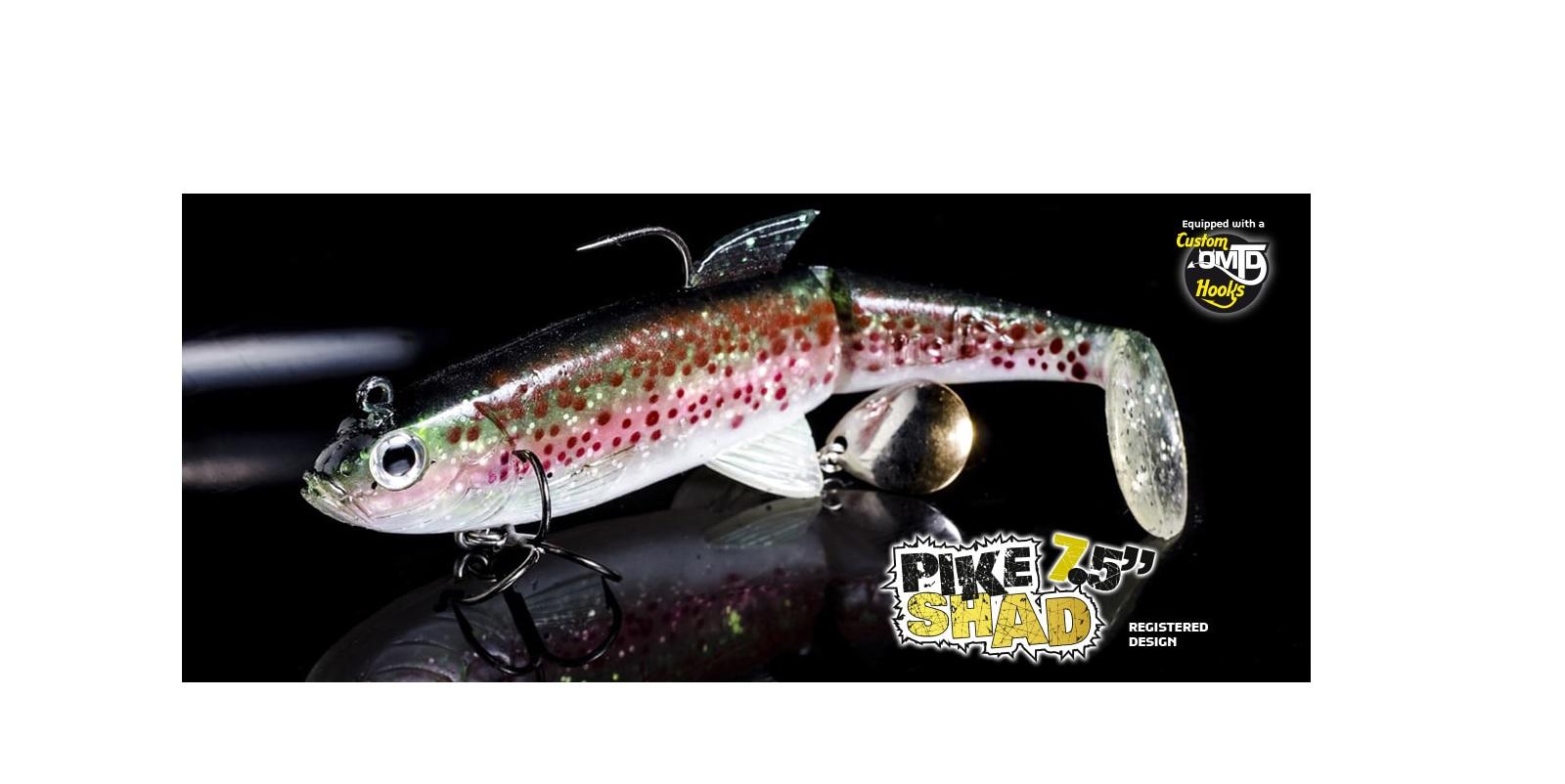 Esca Molix Pike Shad 7,5'' 18,5 cm  100 gr