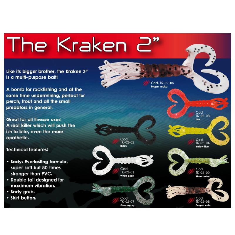 "Esca Fish Action The Kraken 2"""