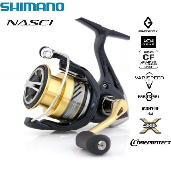 Mulinello Shimano Nasci HGSFB 2500