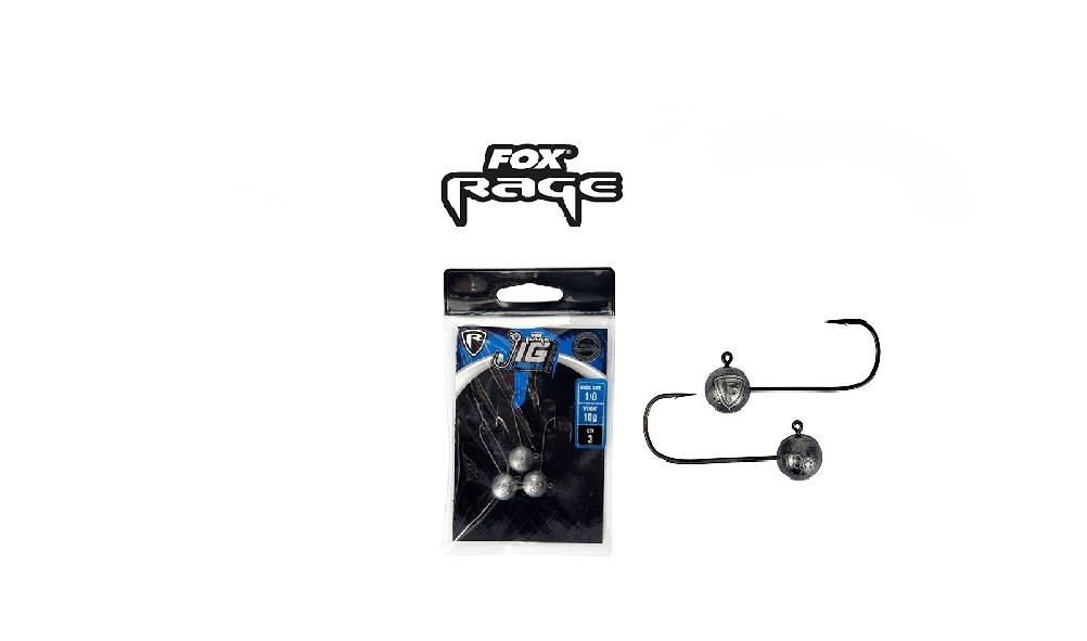 Testa piombata Fox Rage Finesse Jig Heads