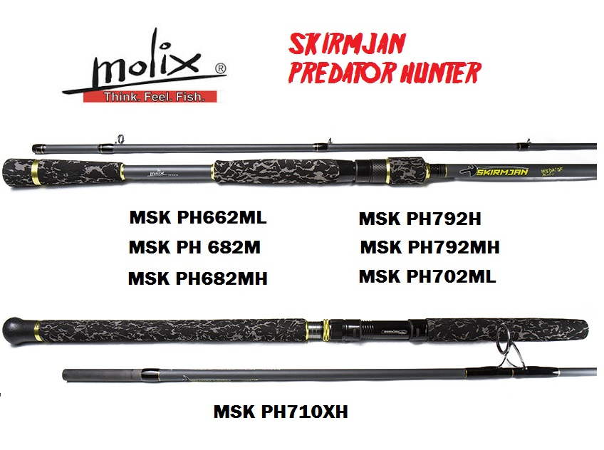 Canne Molix Skirmjan Predator Hunter