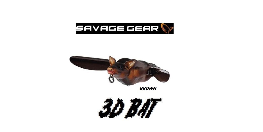 Esca Artificiale3D Bat 7 cm 14 gr