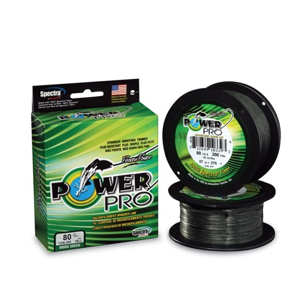 Filo Shimano Power Pro 135m Moss Green