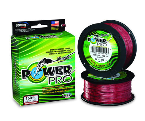 Filo Shimano Power Pro 135m Red