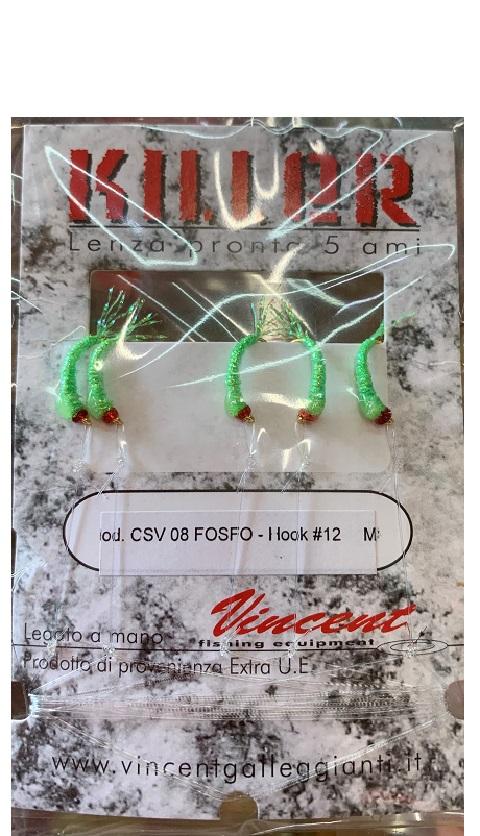 Montatura Vincent per Sardina, Agone CSV08 Fosforescente