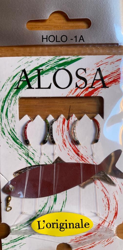 Montatura Alosa per Sardina, Agone HOLO-1A