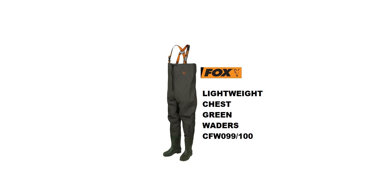 Fox Waders Lightweight Verde
