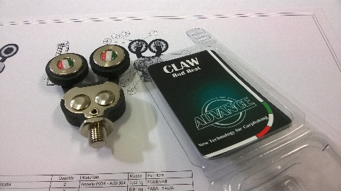 Advance Claw Rod Rest