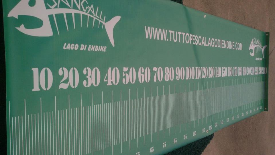 Tappetino Misura pesci metrico