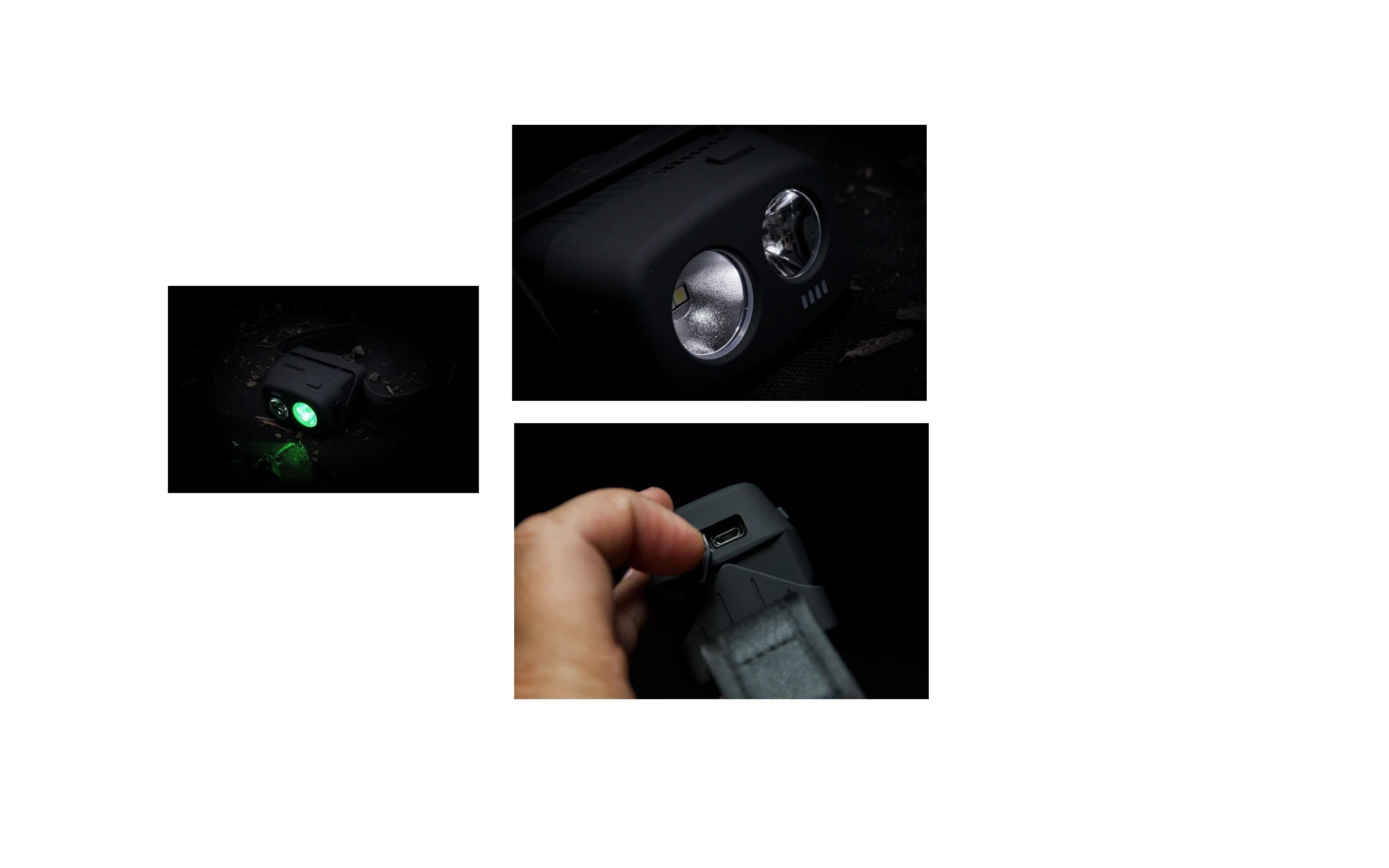 Lampada da testa usb VRH300 RidgeMonkey cod RM060