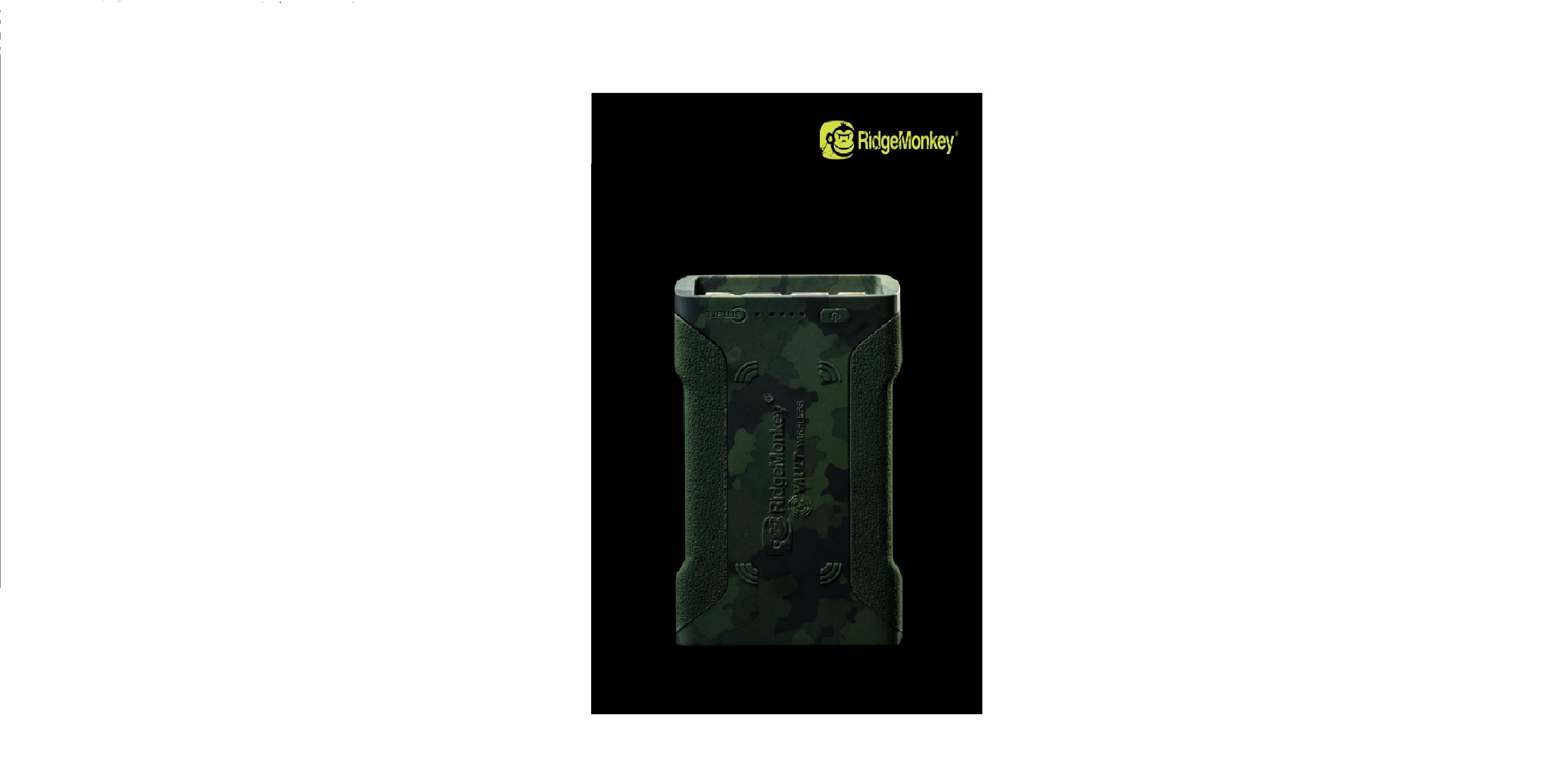 Powerbank Ridge Monkey Vault C-Smart Wireless 26950 mAh cod RM486