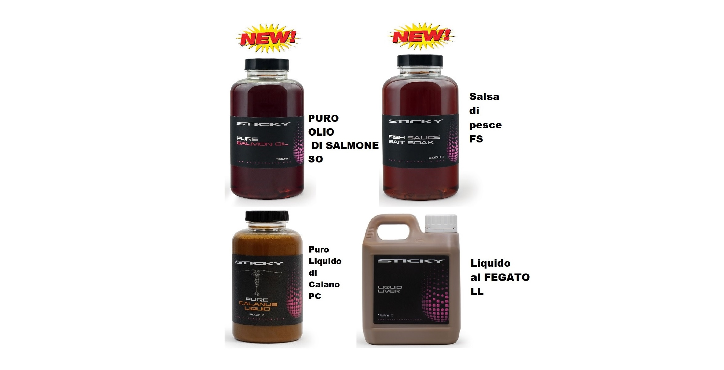 Sticky Linea Liquid Foods