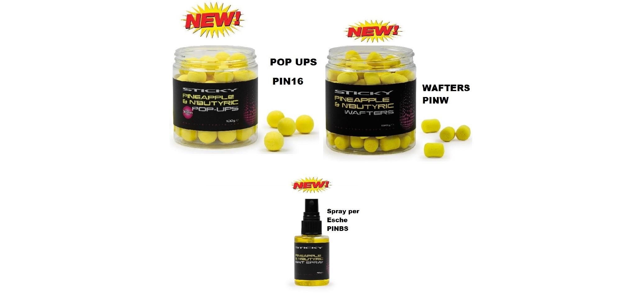 Sticky Linea Fluoro Pineapple & NButyric