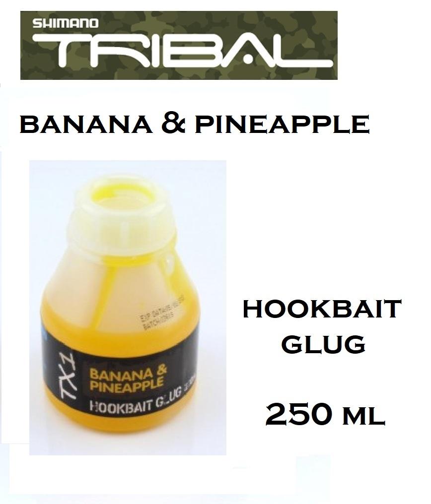 Liquido Shimano TX1 Banana & Pineapple  hookbait glug 250 ml cod TX1BPHB250