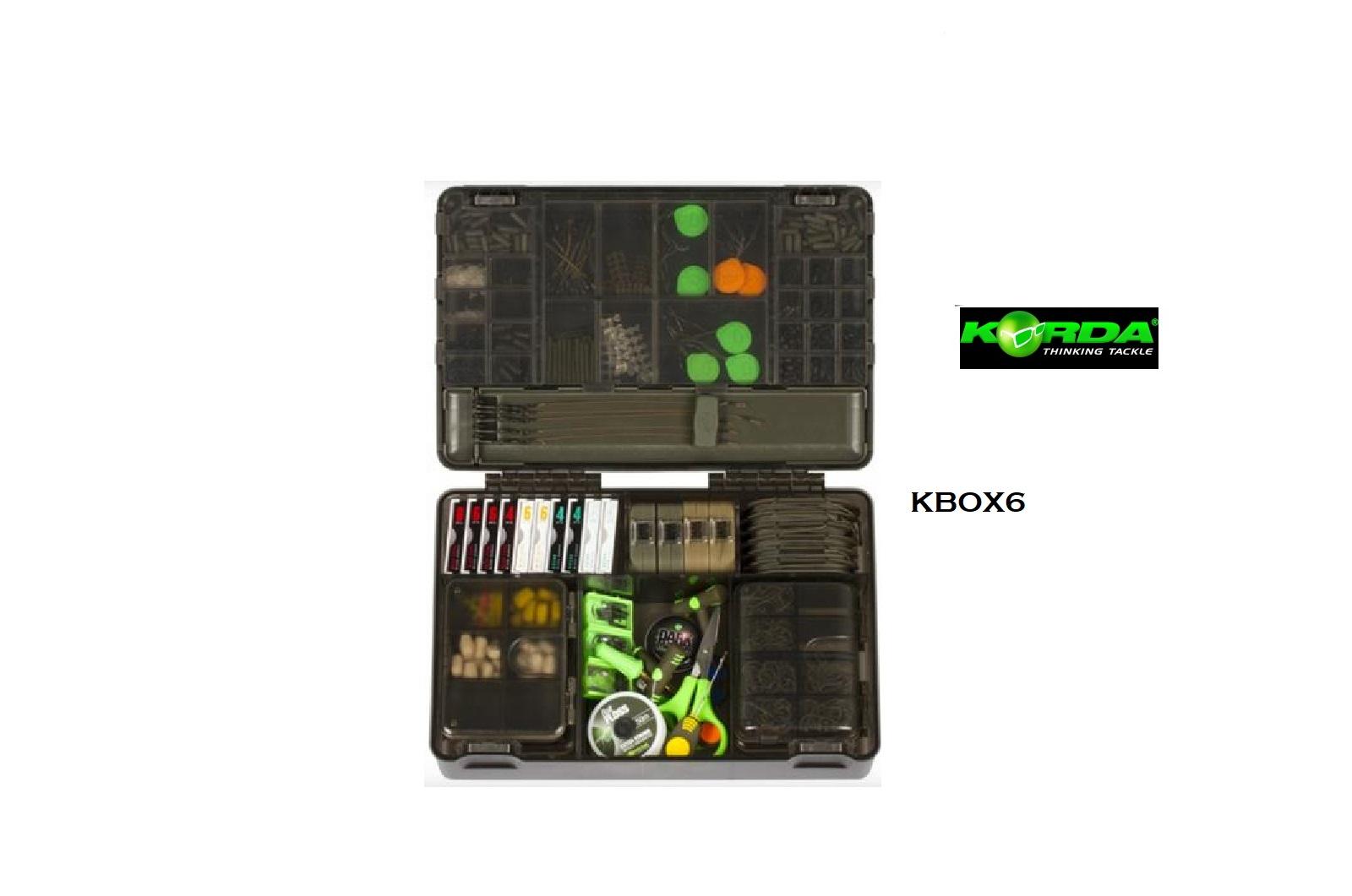 Cassetta Tackle Box  Korda cod KBOX6