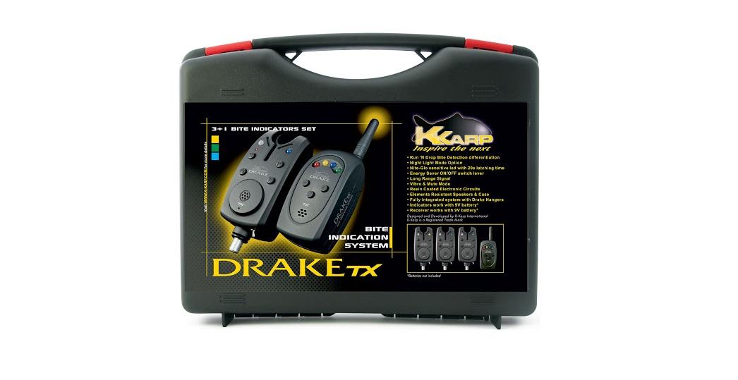 Centralina KKarp 3+1 DRAKE TX