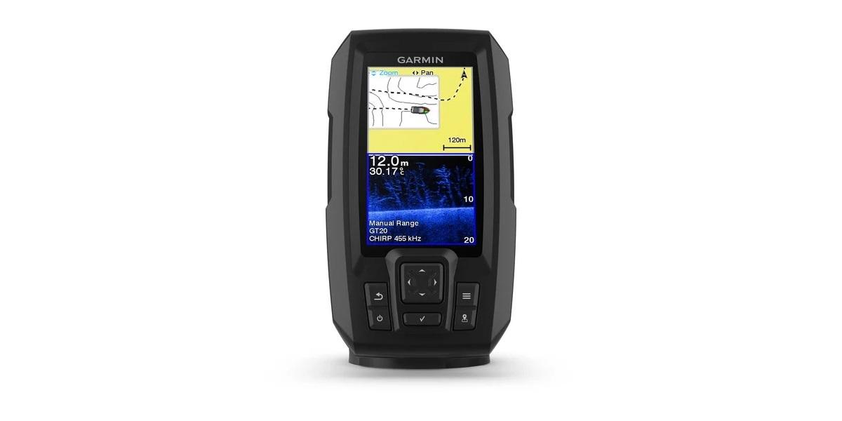 Ecoscandaglio Garmin STRIKER™ Plus 4cv con trasduttore GT20-TM cod 0100187101