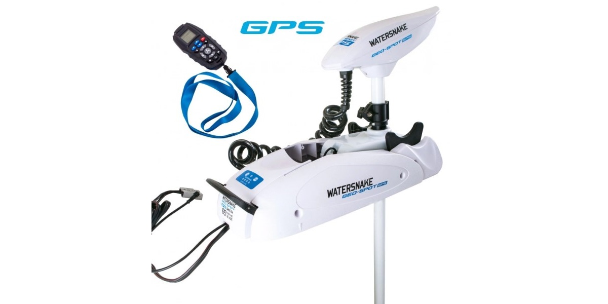 Motore WaterSnake GEO-SPOT GPS SW 65/54 12V 135cm da Prua