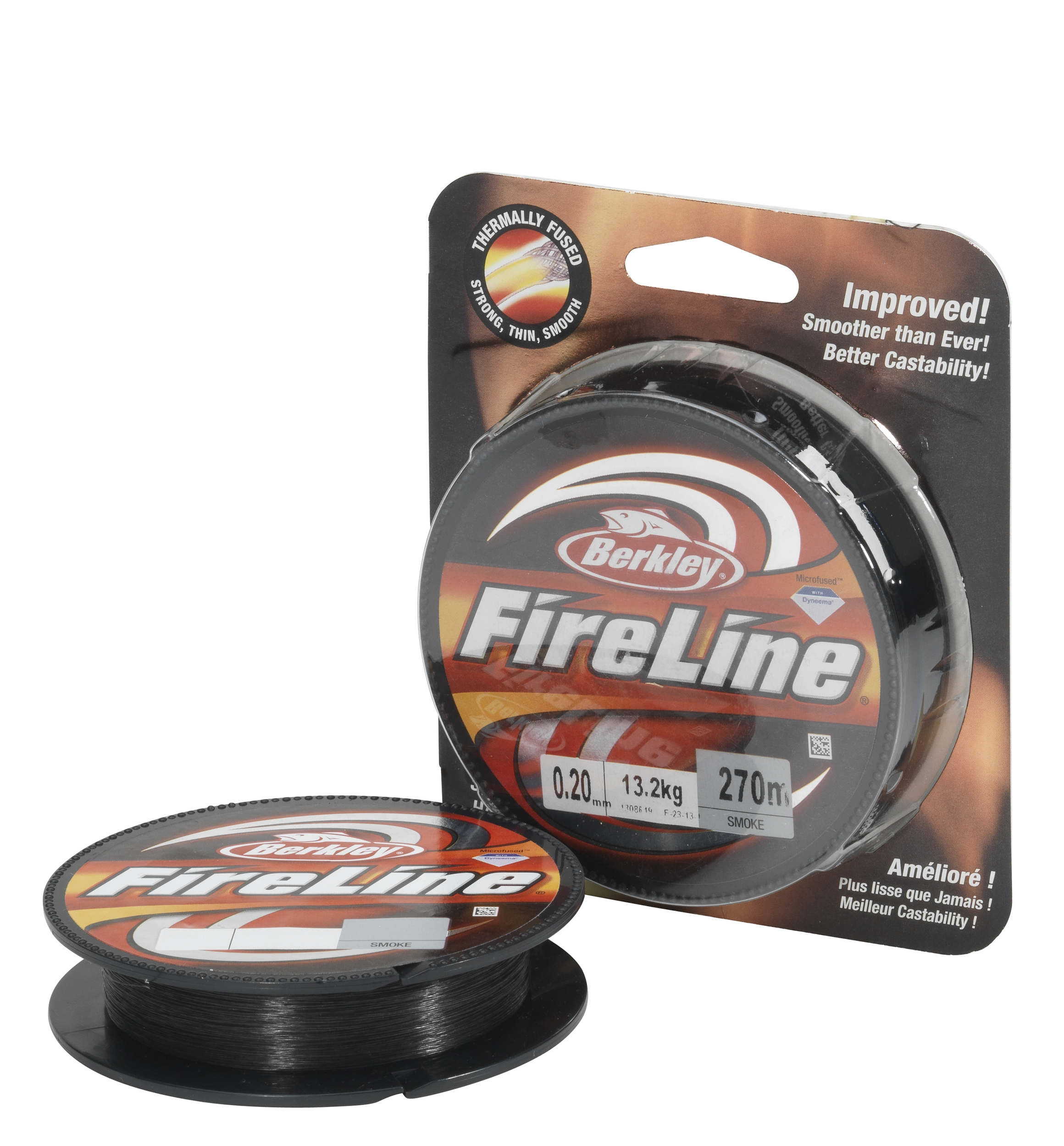 Filo trecciato Berkley Fireline smoke 0.39 mm 250 mt