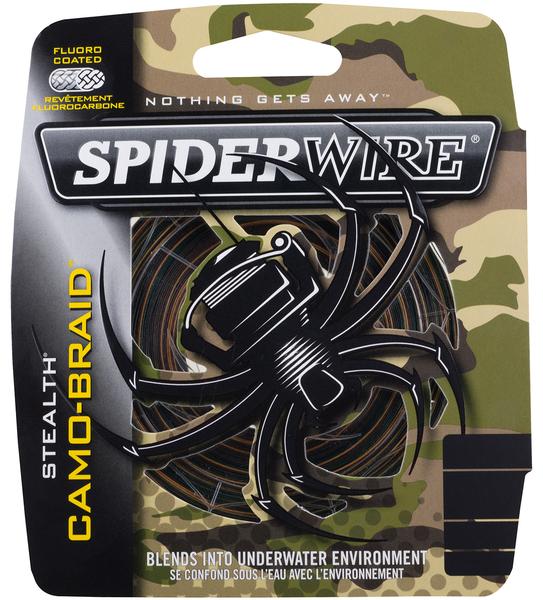 Filo trecciato Spiderwire Stealth Camo Braid 110 m