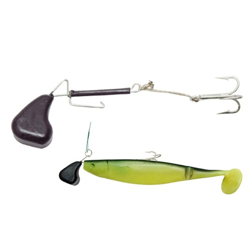 Bilanciere Black Cat Soft Lure Rig