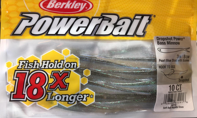 Minnow Powerbait Dropshot 3 pollici
