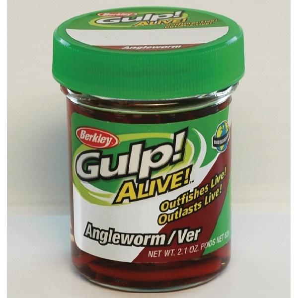 Gulp Alive Nightcrawler vermone 2 pollici